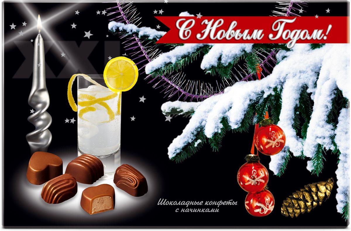 Победа вкуса С Новым Годом! конфеты, 120 г (21)4607039271478Встреча Нового года и Рождества - самый желанный праздник в году для каждого из нас. Победа вкуса подготовила серию шоколада, конфет и шоколадных фигур, посвященных этому событию.