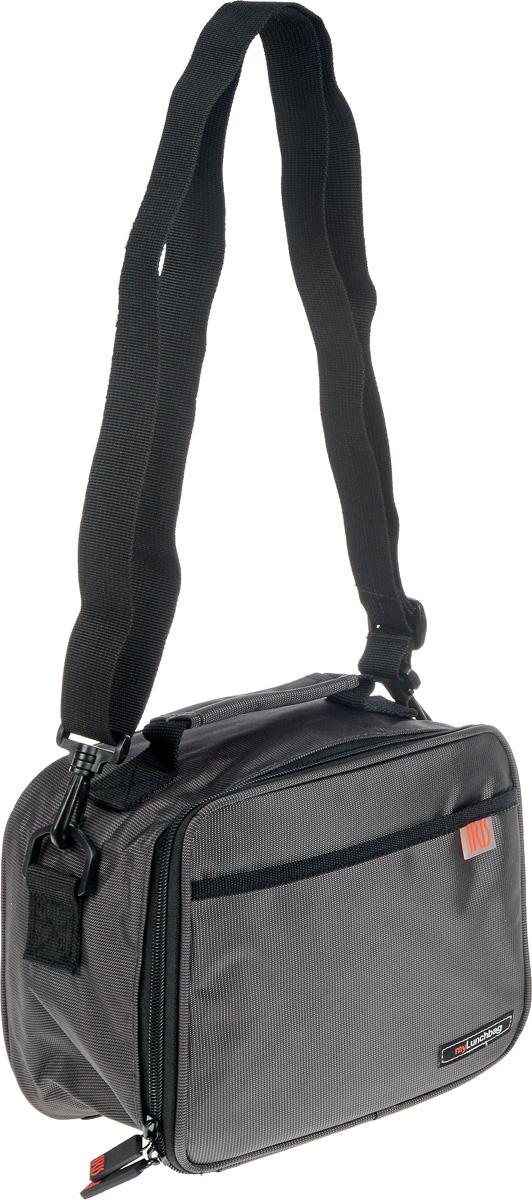 Термосумка Iris Barcelona Classic Pocket, цвет: серый, 21 х 12 х 19 смVT-1520(SR)Термосумка Iris Classic Pocket отлично сохраняет свежесть и вкус продукта на несколько часов. Такая сумка пригодится на прогулке, на работе, учёбе, пикнике. С ней легко справится даже ребёнок! Присутствует удобный кармашек для аксессуаров и регулируемый ремень для переноски (в одной руке или на плече).Рекомендуется регулярно стирать сумку вручную в теплой воде с мылом.Уважаемые покупатели!Обращаем ваше внимание на то, что контейнер в комплект не входит.