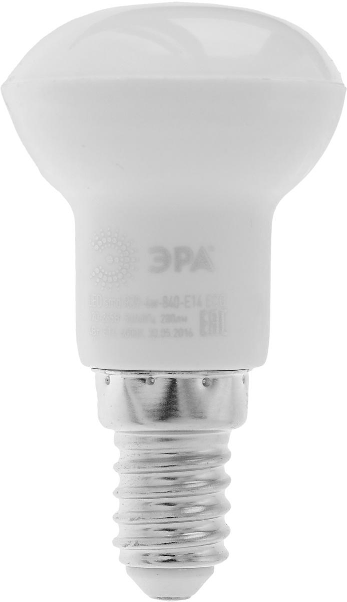 Лампа светодиодная ЭРА, цоколь E14, 170-265V, 4W, 4000КC0038550Светодиодная лампа ЭРА является самым перспективным источником света. Основным преимуществом данного источника света является длительный срок службы и очень низкое энергопотребление, так, например, по сравнению с обычной лампой накаливания светодиодная лампа служит в среднем в 50 раз дольше и потребляет в 10-15 раз меньше электроэнергии. При этом светодиодная лампа практически не подвержена механическому воздействию из-за прочной конструкции и позволяет получить любой цвет светового потока, что, несомненно, расширяет возможности применения и позволяет создавать новые решения в области освещения.Особенности серии Eco:Предназначена для обычного потребителяЦена ниже, чем цена компактной люминесцентной лампыСветовая отдача источников света - 70-80 лм/ВтСрок службы составляет 25000 часовГарантия - 1 год. Работа в цепи с выключателем с подсветкой не рекомендована.