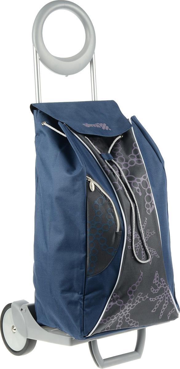 Сумка-тележка Gimi Market, 48 л1579585704012Gimi Market - эта удобная сумка-тележка пригодится каждой хозяйке. Ее мобильность и простота позволит вам без труда ей пользоваться. Ткань сумки водонепроницаема. Корпус сумки-тележки состоит из стали. Пластмасса, используемая в производстве тележки, повышенной прочности. Имеет дополнительный наружный карман на молнии. Удобная и стильная сумка-тележка предназначена для перевоза любого груза. Теперь вам не придётся нести тяжёлые сумки в руках. Эта сумка-тележка поможет вам без особого труда и в любую погоду довезти ваши продукты в целости и сохранности. Удобная подставка для вертикального положения сумки-тележки позволят вам оставлять её без дополнительного внимания.Максимальная нагрузка: 30 кг.