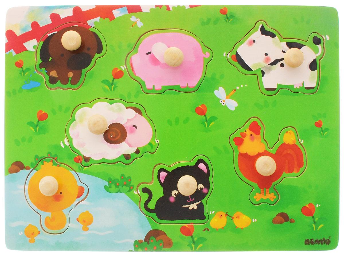 Vulpi Пазл для малышей Домашние животные развивающая игра пазл educa животные