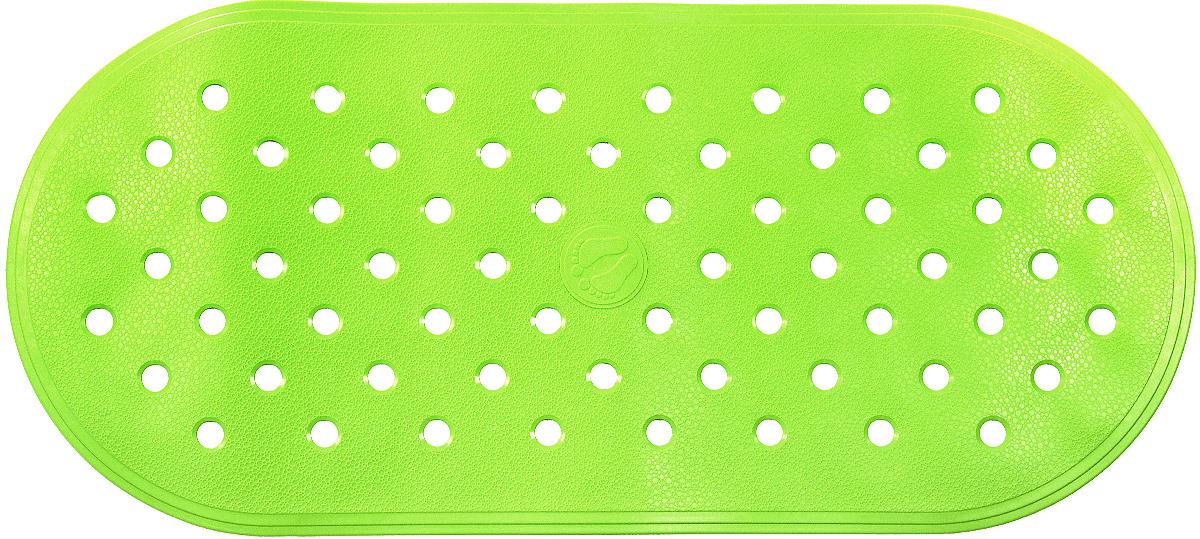 Коврик для ванной Ridder Action, противоскользящий, на присосках, цвет: светло-зеленый, 36 х 80 см74-0120Коврик для ванной Ridder Action, изготовленный из каучука с защитой от плесени и грибка, создает комфортное антискользящее покрытие в ванне. Крепится к поверхности при помощи присосок. Изделие удобно в использовании и легко моется теплой водой.