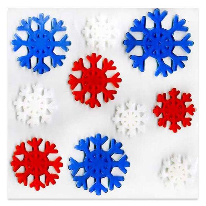 Наклейка-панно декоративная Winter Wings Новый год, 20 х 20 см. N09303C0042415Наклейка панно НОВЫЙ ГОД, гелевая, 20*20 см,