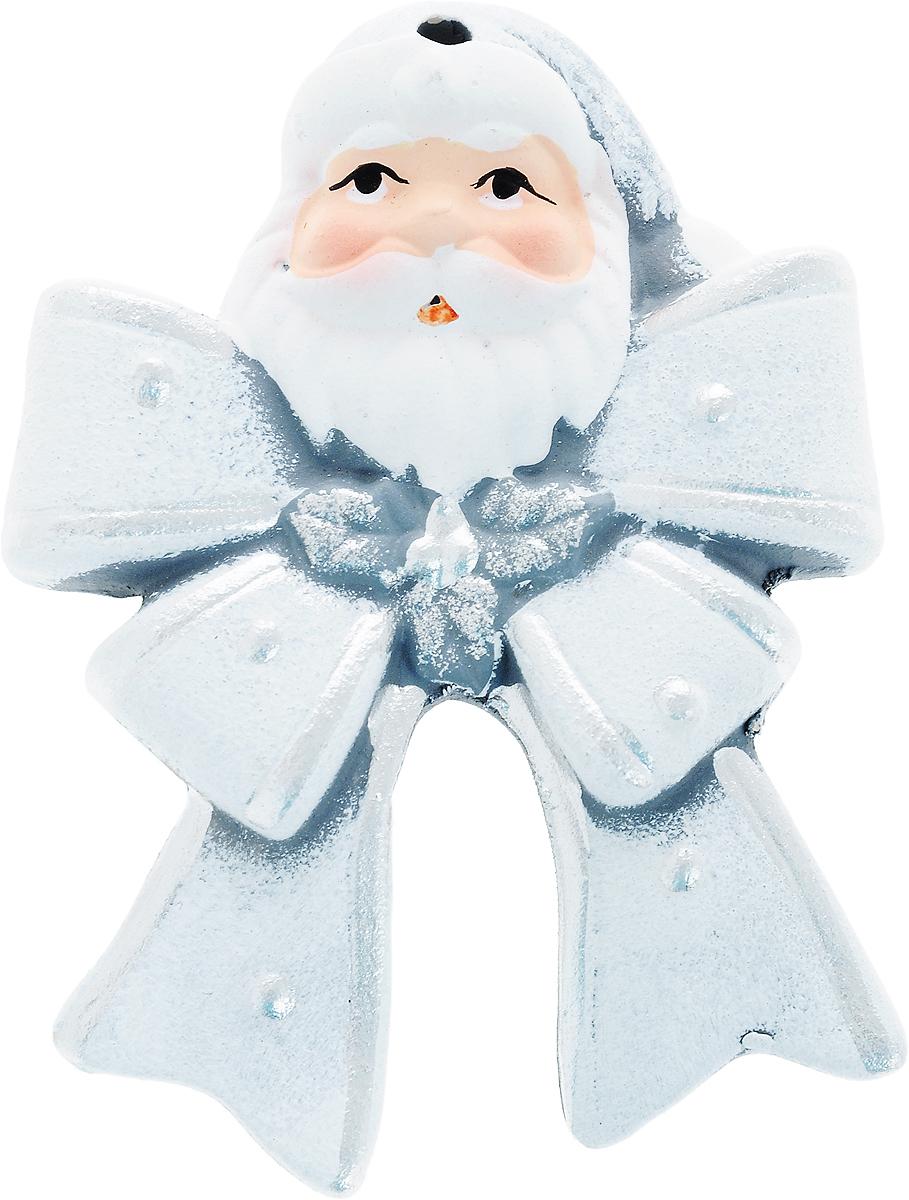 Украшение новогоднее подвесное House & Holder Дед Мороз, высота 9,5 смIRK-503Новогоднее подвесное украшение House & Holder Дед Мороз выполнено из керамики. С помощью специальной петельки украшение можно повесить в любом понравившемся вам месте. Но, конечно, удачнее всего оно будет смотреться на праздничной елке.Елочная игрушка - символ Нового года. Она несет в себе волшебство и красоту праздника. Создайте в своем доме атмосферу веселья и радости, украшая новогоднюю елку нарядными игрушками, которые будут из года в год накапливать теплоту воспоминаний.Размер: 6,5 х 1 х 9,5 см.