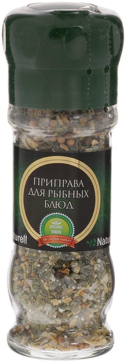 Naturell приправа для рыбных блюд в мельнице, 51 г3110141Приправа для рыбных блюд Naturell в мельнице - это тщательно подобранные ингредиенты, которые придадут блюдам из рыбы богатый вкус и аромат.