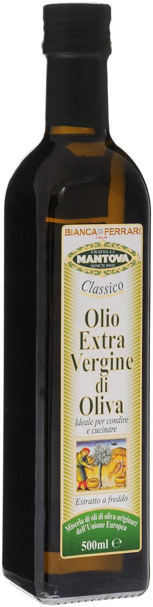 Bianca Ferrari масло оливковое Extra Vergin, 500 мл0120710Оливковое масло высшей категории Bianca Ferrari Extra Vergin считается самым полезным и вкусным из всех существующих. Оливковое масло из Италии - самый яркий пример высококачественного оливкового масла.Произведено механическим способом, непосредственно из оливок.