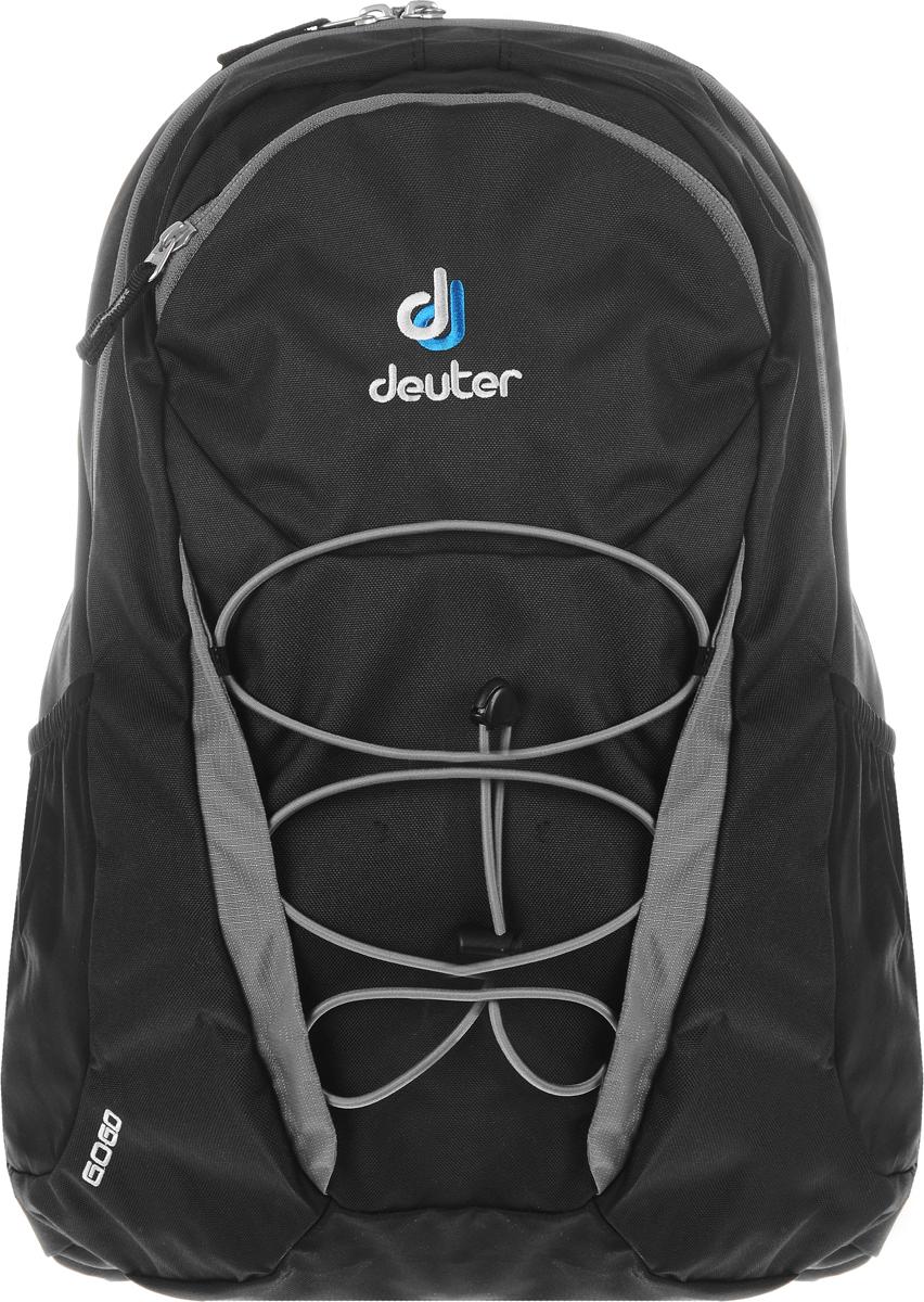 Рюкзак Deuter Go Go, цвет: черный, серый, 25 л рюкзак городской deuter go go blackberry dresscode цвет бордовый 25 л 3820016