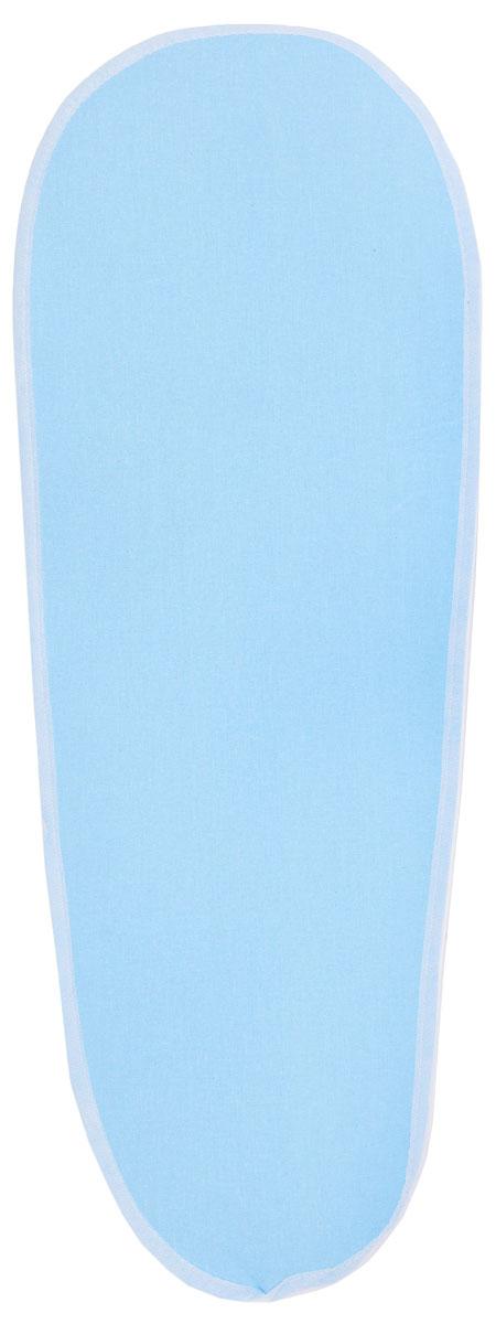 Чехол для рукава гладильной доски Leifheit, цвет: голубой, 52 х 12 см72324_голубойФункциональный и практичный чехол на рукав гладильной доски от Leifheit предназначен для установки на специальное компактное приспособление, которое облегчает глажку отдельных элементов одежды или белья сложной конфигурации. Максимально возможный размер гладильной мини-доски – 52 х 12 см. Чехол выполнен из высококачественного хлопка и обладает отличной паропроницаемостью. Он оснащен прокладкой из 2-х миллиметрового пеноматериала, а также стяжным шнуром по периметру, который надежно фиксируется в требуемом положении. Качественные материалы обеспечат длительный срок службы изделия.