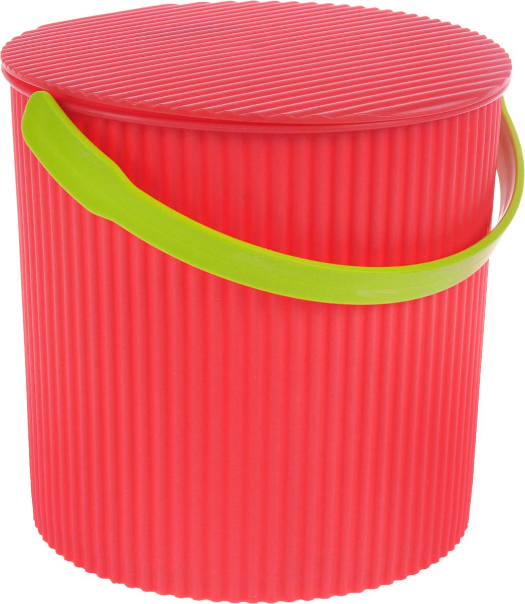 Ведро-стул Изумруд Bambini, цвет: коралловый, бежевый, 10 лOLIVIERA 75012-5C CHROMEВедро-стул Изумруд Bambini выполнено из прочного пластика. Изделие может быть использовано, как стул где-нибудь на природе, как ведро для дома, для рыбалки, для похода. Имеет множество ребер жесткости, которые обеспечивают ему дополнительную прочность.Интересный дизайн впишется в любой интерьер дома, офиса, дачи и сделает его более оригинальным.Диаметр (по верхнему краю): 26 см.Высота: 26 см. Уважаемые клиенты! Обращаем ваше внимание на цвет ручек изделия: товар поставляется в цветовом ассортименте. Поставка осуществляется в зависимости от наличия на складе.