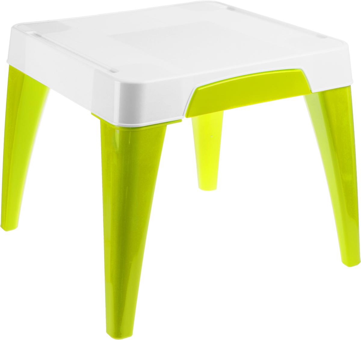 Стол детский Little Angel  Я расту , цвет: салатовый, белый, 60,5 х 60,5 х 50 см -  Детская мебель