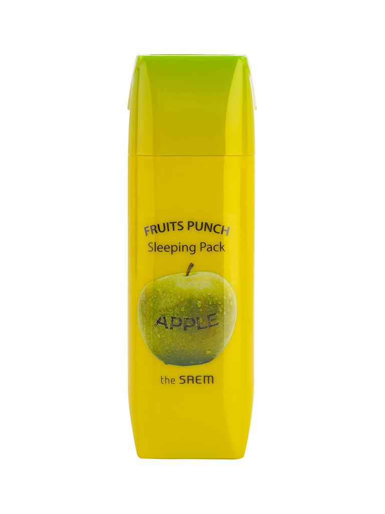 The Saem Маска ночная яблочный пунш Fruits Punch Apple Sleeping Pack, 100 млFS-00897Яблочная ночная маска для лица. Увлажняющая и питательная формула с мощной дозой экстракта яблока содержит смесь компонентов (бетаин, гиалуроновая кислота, масла, медовая вытяжка и др.), необходимых для правильной жизнедеятельности клеток шелушащейся и сухой кожи. Поддерживает оптимальный водный баланс, тонизирует, смягчает, улучшая во время сна рельеф кожного покрова и его цвет. После великолепного «фруктового пунша» Ваша кожа становится изумительно гладкой, свежей и обновленной. Объем: 100мл