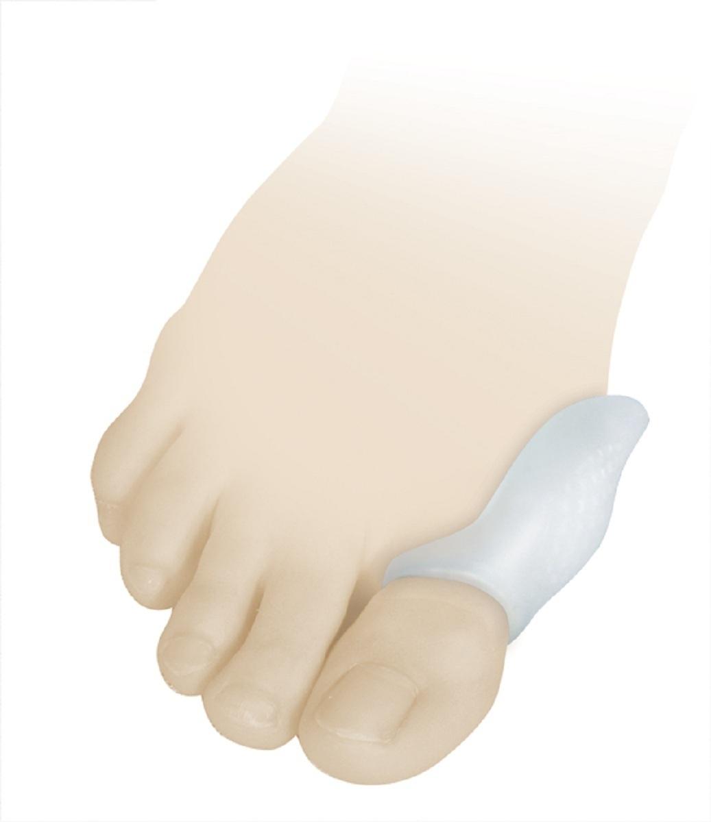 Luomma Бурсопротектор силиконовый Lum9019512/3.5-0.08Размер универсальный. состав: 100% медицинский силикон. Защищает от давления и образования потертостей суставной сумки первого плюснефалангового сустава. В упаковке 2 шт.