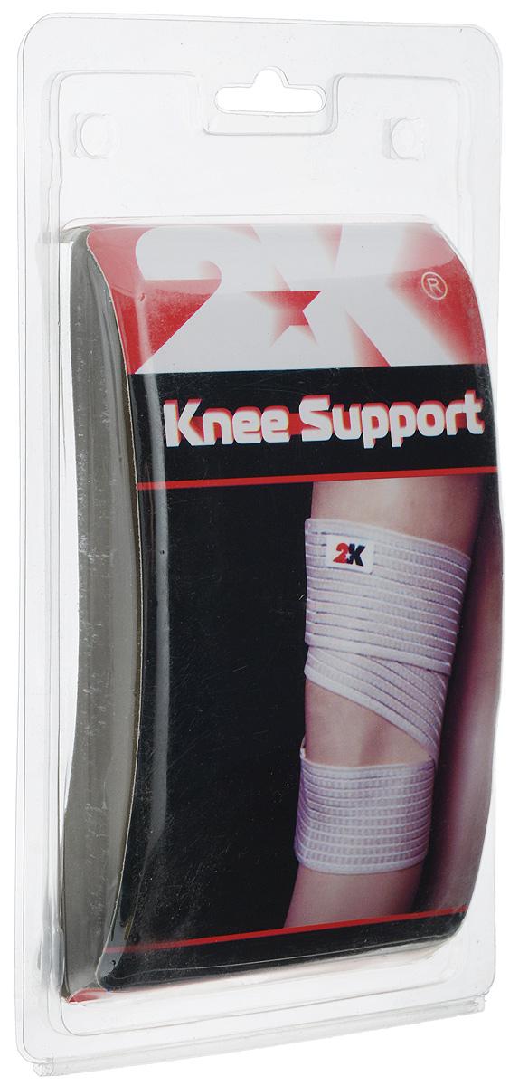 Суппорт колена 2K Sport S-504, цвет: бежевый. Размер М (36-38 см)KBSP-3076/0080Суппорт колена 2K Sport S-504 рекомендован при всех видах воспалений коленного сустава, растяжениях мышц и связок коленного сустава. Обеспечивает мягкую фиксацию сустава, активное воздействие на проприоцепторы, снятие суставного, связочного и мышечного напряжения, облегчение болевых ощущений. Материал: нейлон 58%, эластан 34%, полиэстер 8%. Обхват колена: 36-38 см.