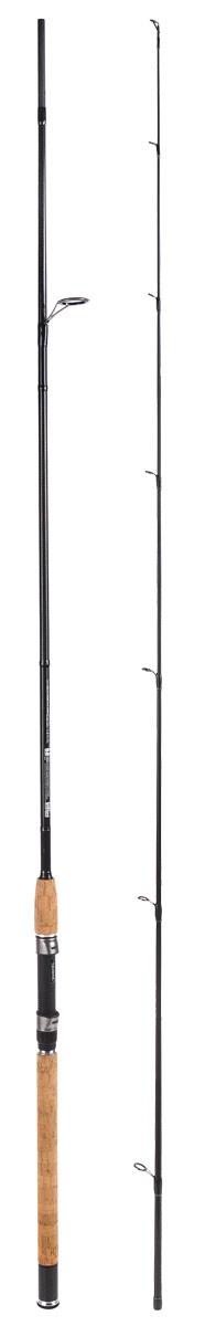 Удилище спиннинговое Daiwa Crossfire, штекерное, 2,7 м, 8-35 г54178Удилище спиннинговое Daiwa Crossfire убедительно во всех своих характеристиках. Изделие идеально сбалансировано и, благодаря своему жесткому строю, прекрасно подходит для ловли на мягкие приманки. Бланк премиум качества из плетеного графитового волокна демонстрирует великолепное соотношение цены и качества. Удилище оснащено кольцами из оксида титана, пробковой рукояткой, чувствительным бланком из графитового волокна.
