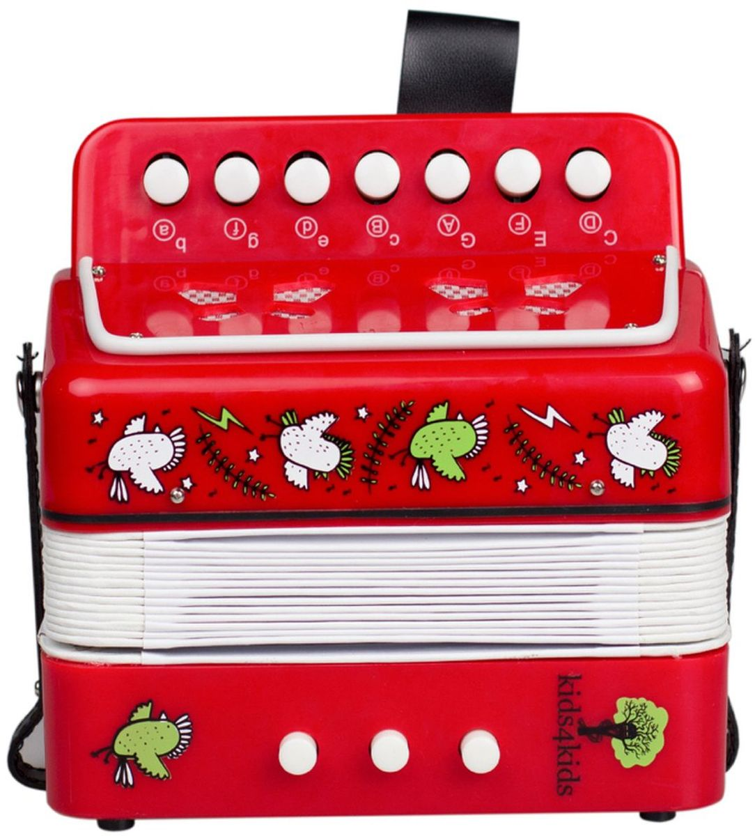 Kids4Kids Музыкальная игрушка Аккордеон Волшебные ноты - Музыкальные инструменты
