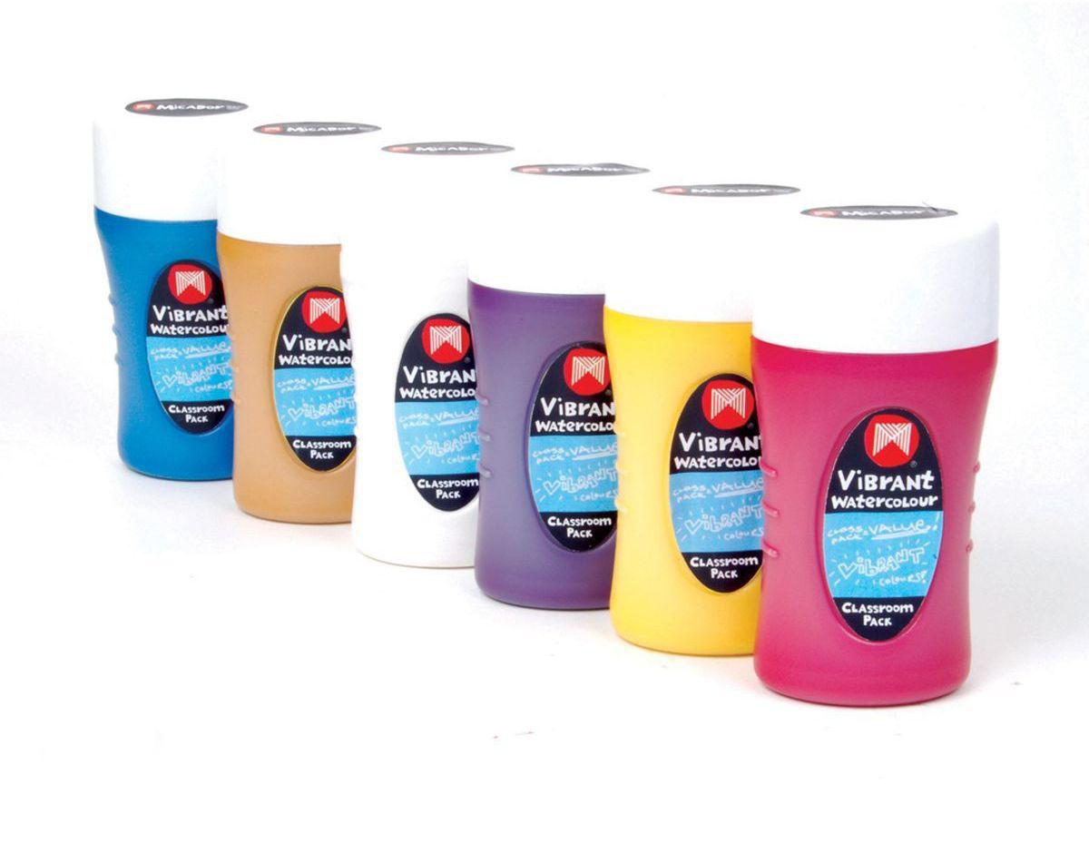Micador Акварельные краски 220 мл 6 цветовWCT600Яркие и насыщенные цвета, которые не оставят равнодушным ни одного ребенка. Благодаря краскам с высокой пигментацией цветов, рисунки будут выглядеть более выразительно и профессионально. При высыхании появляется эффект полупрозрачности. Полностью смываемая в теплой мыльной воде. Не содержат токсических веществ, полностью безопасны для детей. Рисование развивает творческие способности, воображение, логику, память, мышление. Пусть мир вашего ребенка будет ярким и безопасным!