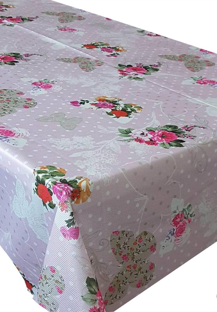 Скатерть Ambesonne Бабочки и цветы на розовом фоне, прямоугольная, 150 x 220 смVT-1520(SR)Великолепная скатерть Ambesonne, выполненная из полиэстера, создаст атмосферу уюта и домашнего тепла в интерьере вашей кухни.В современном мире кухня - это не просто помещение для приготовления и приема пищи. Это особое место, где собирается вся семья и царит душевная атмосфера.