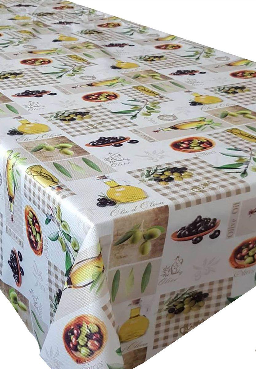 Скатерть Ambesonne Свежие оливки, прямоугольная, 150 x 220 см4630003364517Великолепная скатерть Ambesonne, выполненная из полиэстера, создаст атмосферу уюта и домашнего тепла в интерьере вашей кухни.В современном мире кухня - это не просто помещение для приготовления и приема пищи. Это особое место, где собирается вся семья и царит душевная атмосфера.