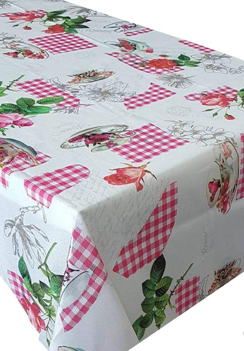 Скатерть Ambesonne Розы и фарфор, прямоугольная, 110 x 150 смSVC-300Красочная фотоскатерть Ambesonne Розы и фарфор выполнена из тканевого полиэстера и украшена оригинальным рисунком. Изделие создаст атмосферу уюта и домашнего тепла в интерьере вашей кухни.В современном мире кухня - это не просто помещение для приготовления и приема пищи. Это особое место, где собирается вся семья и царит душевная атмосфера.
