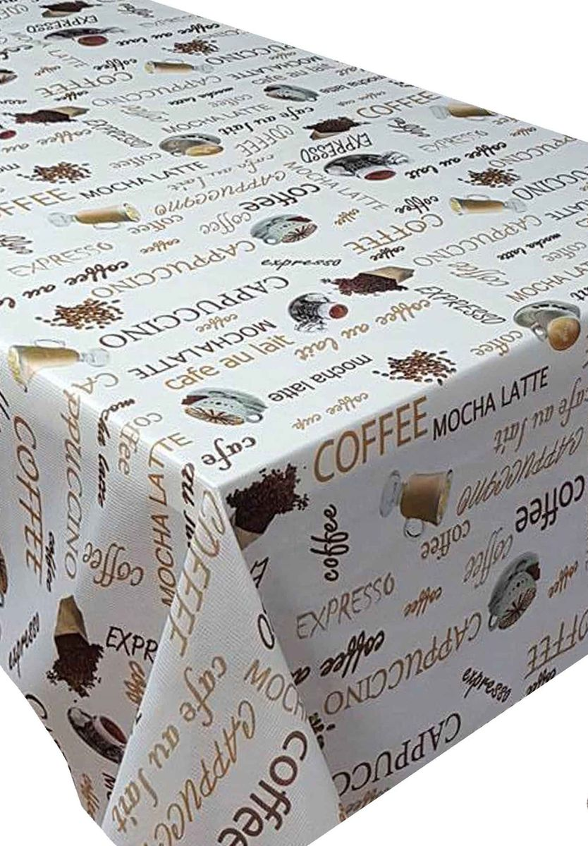 Скатерть Ambesonne Зерновой кофе, квадратная, 150 x 150 смFA-5125 WhiteВеликолепная скатерть Ambesonne, выполненная из полиэстера, создаст атмосферу уюта и домашнего тепла в интерьере вашей кухни.В современном мире кухня - это не просто помещение для приготовления и приема пищи. Это особое место, где собирается вся семья и царит душевная атмосфера.