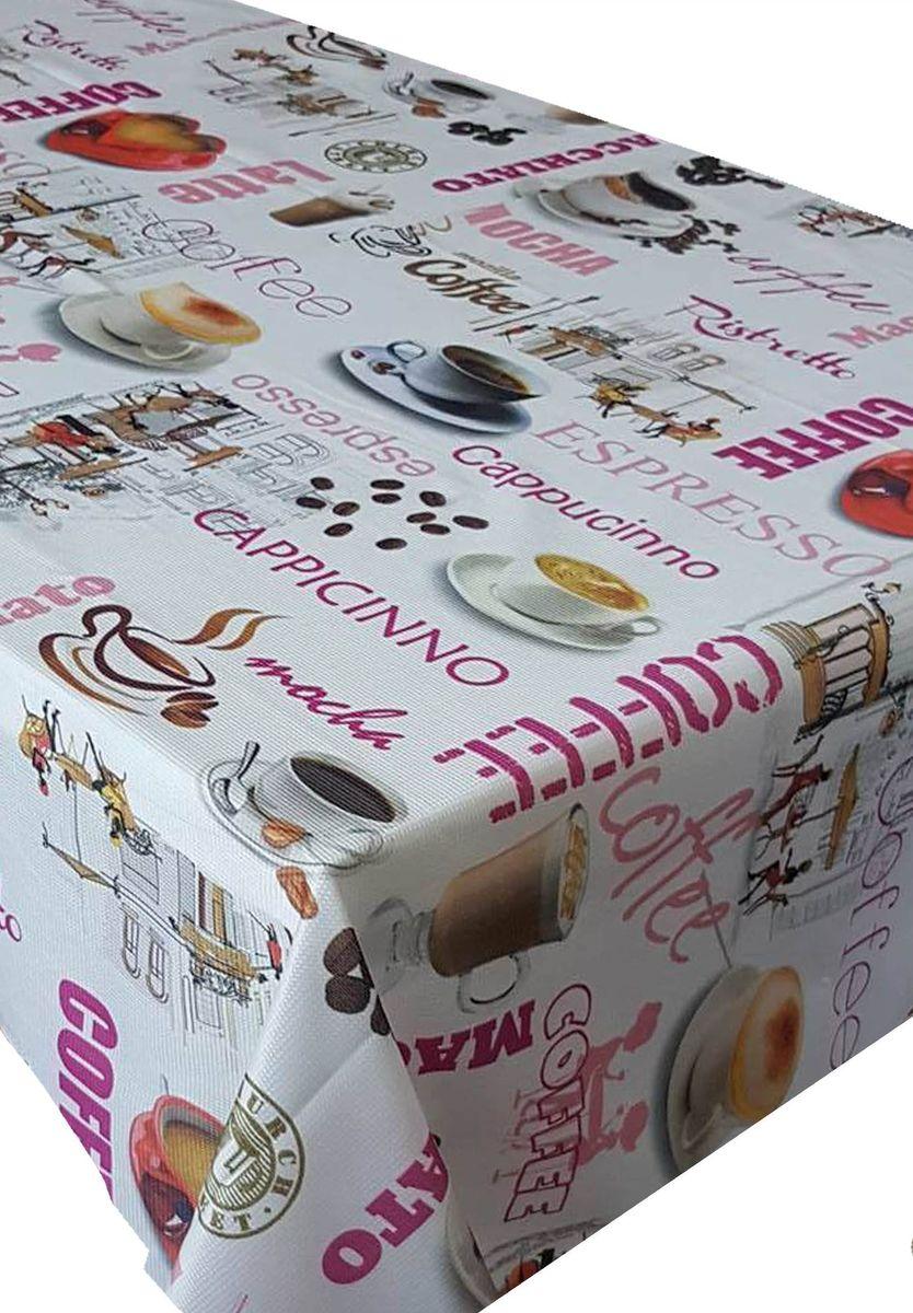 Скатерть Ambesonne Чашка кофе, прямоугольная, 110 x 150 смVT-1520(SR)Великолепная скатерть Ambesonne, выполненная из полиэстера, создаст атмосферу уюта и домашнего тепла в интерьере вашей кухни.В современном мире кухня - это не просто помещение для приготовления и приема пищи. Это особое место, где собирается вся семья и царит душевная атмосфера.