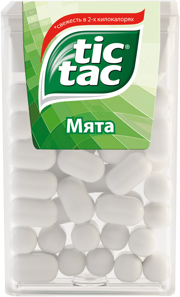 Tic Tac Мята драже, 16 г
