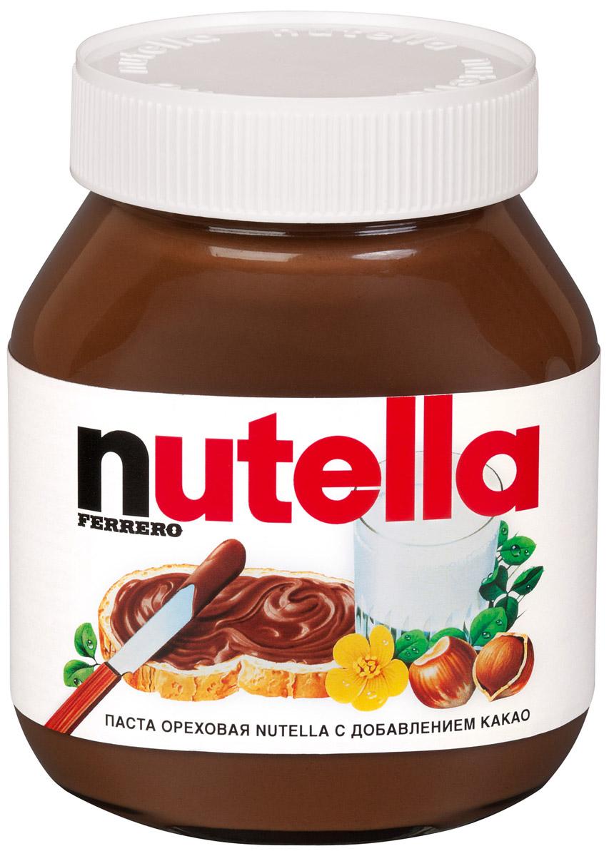 Nutella паста ореховая с добавлением какао, 180 г0120710Nutella обладает неповторимым вкусом лесных орехов и какао, а ее нежная кремовая текстура делает вкус еще интенсивнее. Секрет уникального вкуса в особенном рецепте, отборных ингредиентах и тщательном приготовлении. При производстве Nutella не используются консерванты и красители. Сегодня Nutella является одной из самых узнаваемых и любимых марок в мире, продуктом, продажи которого составляют треть годового оборота компании Ferrero. Хороший день начинается с Nutella!