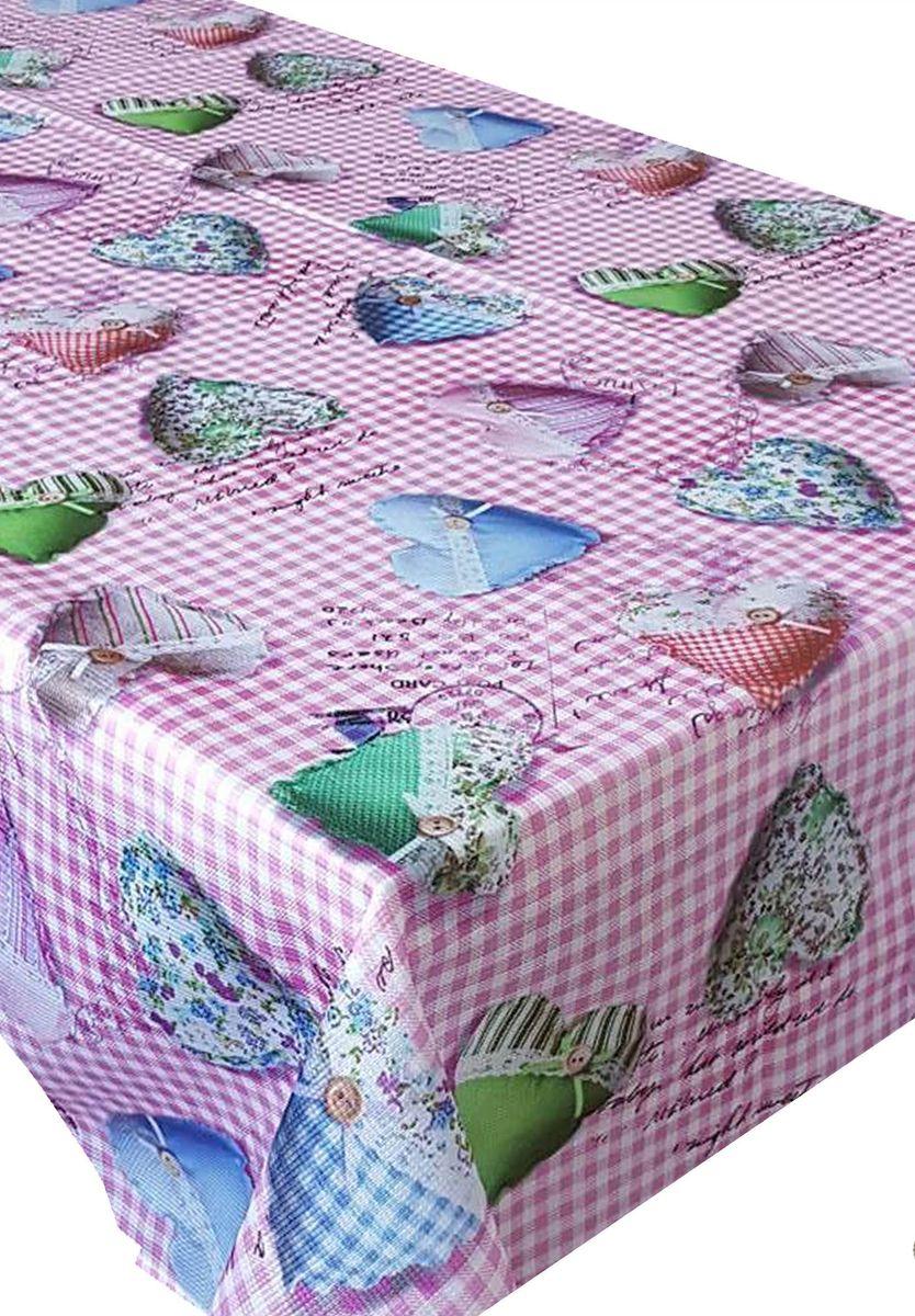 Скатерть Ambesonne Разноцветные сердца на розовом фоне, квадратная, 150 x 150 смK100Красочная фотоскатерть Ambesonne Разноцветные сердца на розовом фоне выполнена из тканевого полиэстера и украшена оригинальным рисунком. Изделие создаст атмосферу уюта и домашнего тепла в интерьере вашей кухни.В современном мире кухня - это не просто помещение для приготовления и приема пищи. Это особое место, где собирается вся семья и царит душевная атмосфера.