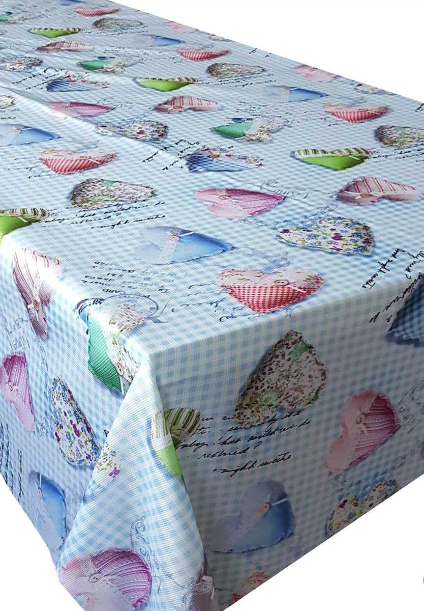 Скатерть Ambesonne Разноцветные сердца на голубом фоне, прямоугольная, 110 x 150 смVT-1520(SR)Красочная фотоскатерть Ambesonne Разноцветные сердца на голубом фоне выполнена из тканевого полиэстера и украшена оригинальным рисунком. Изделие создаст атмосферу уюта и домашнего тепла в интерьере вашей кухни.В современном мире кухня - это не просто помещение для приготовления и приема пищи. Это особое место, где собирается вся семья и царит душевная атмосфера.