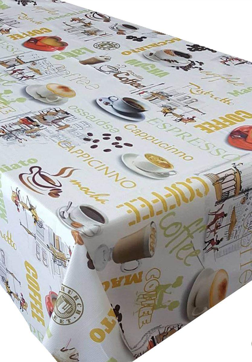 Скатерть Ambesonne Кофейный аромат, прямоугольная, 110 x 150 см10.01.03.0071Красочная фотоскатерть Ambesonne Кофейный аромат выполнена из тканевого полиэстера и украшена оригинальным рисунком. Изделие создаст атмосферу уюта и домашнего тепла в интерьере вашей кухни.В современном мире кухня - это не просто помещение для приготовления и приема пищи. Это особое место, где собирается вся семья и царит душевная атмосфера.