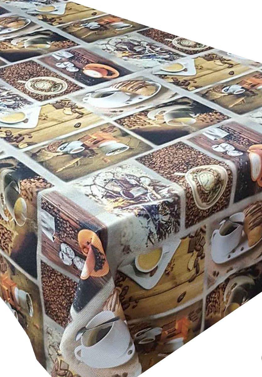 Скатерть Ambesonne Кофе с круассанами, прямоугольная, 110 x 150 см1004900000360Великолепная скатерть Ambesonne, выполненная из полиэстера, создаст атмосферу уюта и домашнего тепла в интерьере вашей кухни.В современном мире кухня - это не просто помещение для приготовления и приема пищи. Это особое место, где собирается вся семья и царит душевная атмосфера.