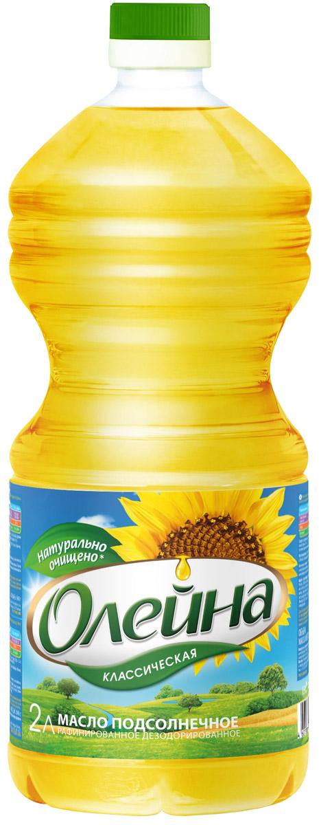 Олейна масло подсолнечное рафинированное, 2 л24Натуральное универсальное высококачественное подсолнечное масло. Подходит для салатов и соусов, для жарки, фритюра.