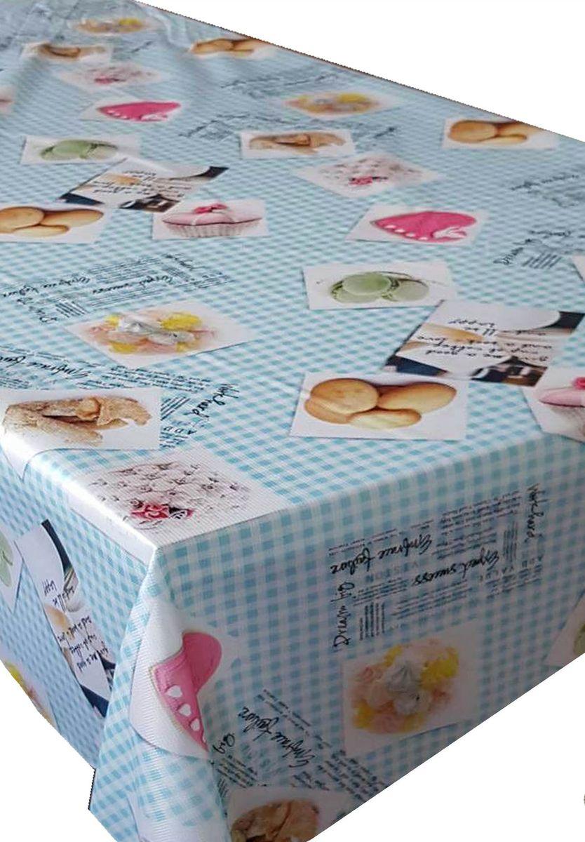 Скатерть Ambesonne Аппетитные сладости, квадратная, 150 x 150 смVT-1520(SR)Красочная фотоскатерть Ambesonne Аппетитные сладости выполнена из тканевого полиэстера и украшена оригинальным рисунком. Изделие создаст атмосферу уюта и домашнего тепла в интерьере вашей кухни.В современном мире кухня - это не просто помещение для приготовления и приема пищи. Это особое место, где собирается вся семья и царит душевная атмосфера.
