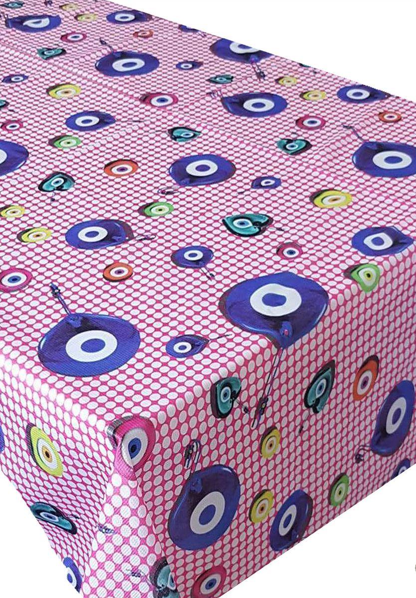Скатерть Ambesonne Амулеты на розовом фоне, прямоугольная, 110 x 150 смVT-1520(SR)Красочная фотоскатерть Ambesonne Амулеты на розовом фоне выполнена из тканевого полиэстера и украшена оригинальным рисунком. Изделие создаст атмосферу уюта и домашнего тепла в интерьере вашей кухни.В современном мире кухня - это не просто помещение для приготовления и приема пищи. Это особое место, где собирается вся семья и царит душевная атмосфера.