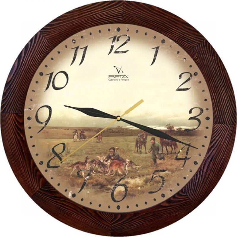 Часы настенные Вега ПолеД3МД/7-149Оригинальные настенные часы круглой формы от Вега Поле выполнены из дерева и пластика. Часы имеют три стрелки - часовую, минутную и секундную. Необычное дизайнерское решение и качество исполнения придутся по вкусу каждому. Оформите свой дом таким интерьерным аксессуаром или преподнесите его в качестве презента друзьям, и они оценят ваш оригинальный вкус и неординарность подарка.Часы работают от 1 батарейки типа АА напряжением 1,5 В (в комплект не входит).