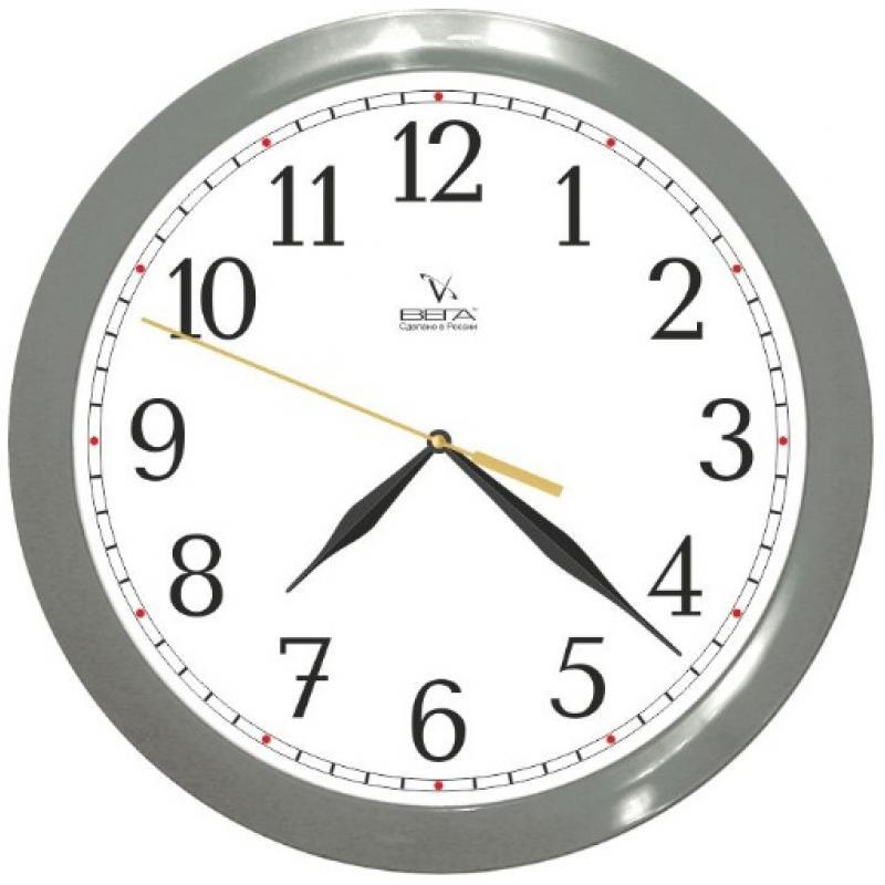 Часы настенные Вега Классика в серомП1-5/7-98Оригинальные настенные часы круглой формы Вега Классика в сером выполнены из пластика. Часы имеют три стрелки - часовую, минутную и секундную. Необычное дизайнерское решение и качество исполнения придутся по вкусу каждому. Оформите свой дом таким интерьерным аксессуаром или преподнесите его в качестве презента друзьям, и они оценят ваш оригинальный вкус и неординарность подарка.Часы работают от 1 батарейки типа АА напряжением 1,5 В (в комплект не входит).