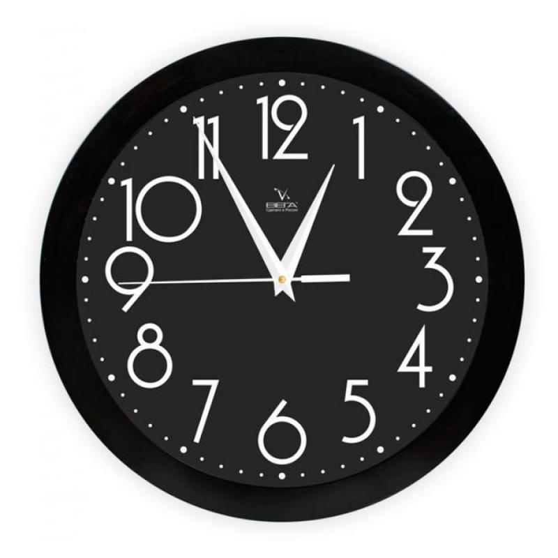 Часы настенные Вега Классика. П1-6/7-280300074_ежевикаОригинальные настенные часы круглой формы Вега Классика выполнены из пластика. Часы имеют три стрелки - часовую, минутную и секундную. Необычное дизайнерское решение и качество исполнения придутся по вкусу каждому. Оформите свой дом таким интерьерным аксессуаром или преподнесите его в качестве презента друзьям, и они оценят ваш оригинальный вкус и неординарность подарка.Часы работают от 1 батарейки типа АА напряжением 1,5 В (в комплект не входит).