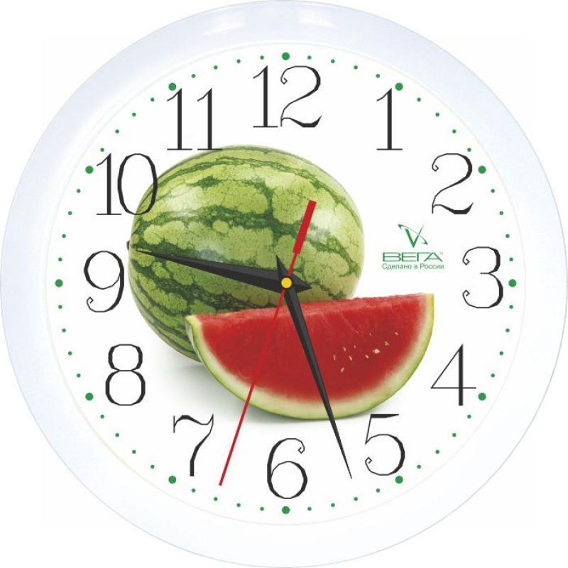 Часы настенные Вега АрбузП1-7/7-96