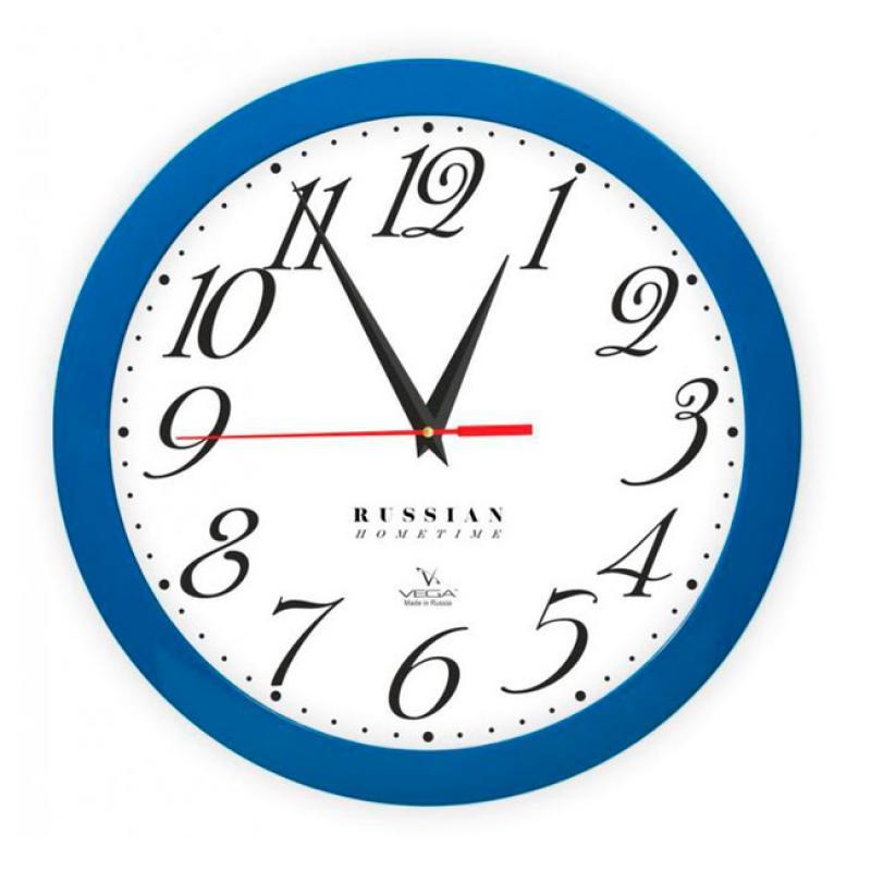 Часы настенные Вега Классика. П1-10/7-272П1-10/7-272Оригинальные настенные часы круглой формы Вега Классика выполнены из пластика. Часы имеют три стрелки - часовую, минутную и секундную. Необычное дизайнерское решение и качество исполнения придутся по вкусу каждому. Оформите свой дом таким интерьерным аксессуаром или преподнесите его в качестве презента друзьям, и они оценят ваш оригинальный вкус и неординарность подарка.Часы работают от 1 батарейки типа АА напряжением 1,5 В (в комплект не входит).