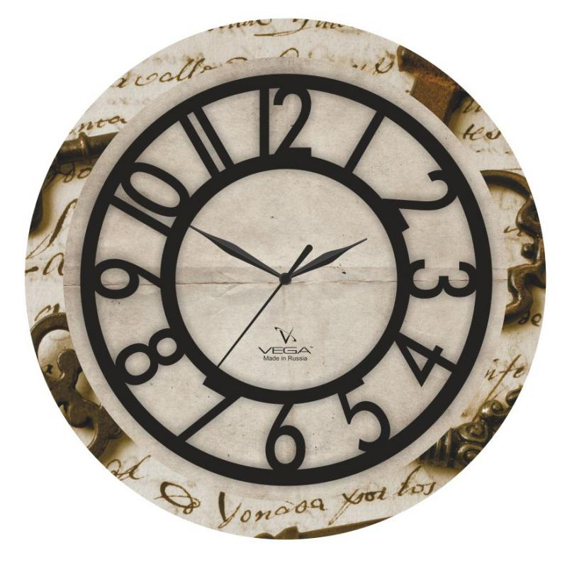 Часы настенные Вега Письмо94672Оригинальные настенные часы круглой формы Вега Письмо выполнены из пластика. Часы имеют три стрелки - часовую, минутную и секундную. Необычное дизайнерское решение и качество исполнения придутся по вкусу каждому. Оформите свой дом таким интерьерным аксессуаром или преподнесите его в качестве презента друзьям, и они оценят ваш оригинальный вкус и неординарность подарка.Часы работают от 1 батарейки типа АА напряжением 1,5 В (в комплект не входит).
