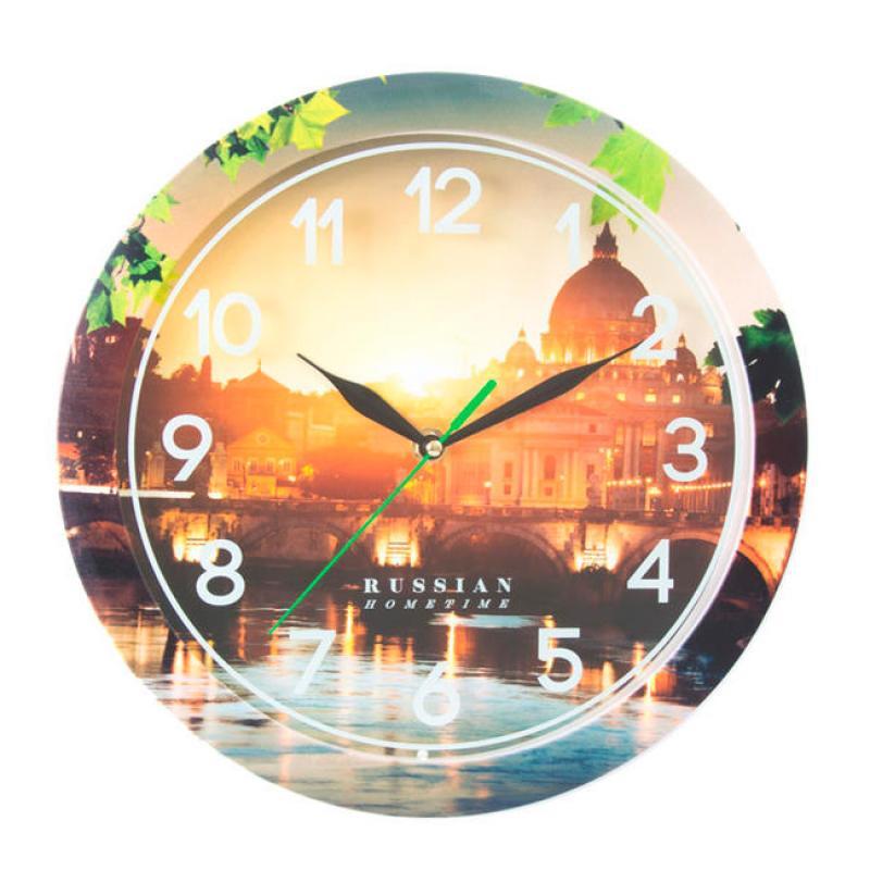 Часы настенные Вега Рассвет94672Оригинальные настенные часы круглой формы Вега Рассвет выполнены из пластика. Часы имеют три стрелки - часовую, минутную и секундную. Необычное дизайнерское решение и качество исполнения придутся по вкусу каждому. Оформите свой дом таким интерьерным аксессуаром или преподнесите его в качестве презента друзьям, и они оценят ваш оригинальный вкус и неординарность подарка.Часы работают от 1 батарейки типа АА напряжением 1,5 В (в комплект не входит).