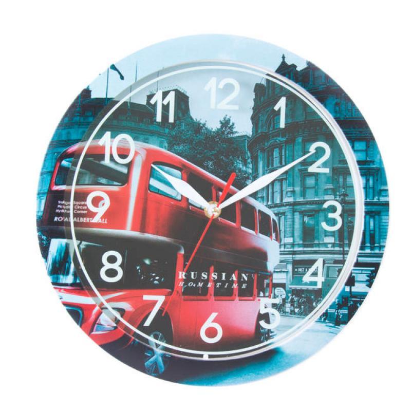 Часы настенные Вега Лондон54 009312Оригинальные настенные часы круглой формы Вега Лондон выполнены из пластика. Часы имеют три стрелки - часовую, минутную и секундную. Необычное дизайнерское решение и качество исполнения придутся по вкусу каждому. Оформите свой дом таким интерьерным аксессуаром или преподнесите его в качестве презента друзьям, и они оценят ваш оригинальный вкус и неординарность подарка.Часы работают от 1 батарейки типа АА напряжением 1,5 В (в комплект не входит).