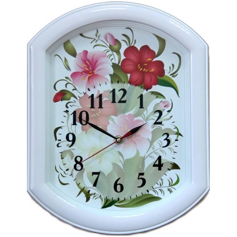 Часы настенные Вега Цветы94672Оригинальные настенные часы Вега Цветывыполнены из пластика. Часы имеют три стрелки - часовую, минутную и секундную. Необычное дизайнерское решение и качество исполнения придутся по вкусу каждому. Оформите свой дом таким интерьерным аксессуаром или преподнесите его в качестве презента друзьям, и они оценят ваш оригинальный вкус и неординарность подарка.Часы работают от 1 батарейки типа АА напряжением 1,5 В (в комплект не входит).
