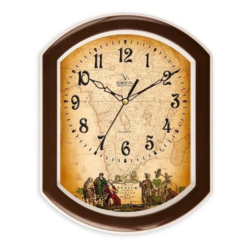 Часы настенные Вега ИсторическиеП2-9/7-5Оригинальные настенные часы Вега Исторические выполнены из пластика. Часы имеют три стрелки - часовую, минутную и секундную. Необычное дизайнерское решение и качество исполнения придутся по вкусу каждому. Оформите свой дом таким интерьерным аксессуаром или преподнесите его в качестве презента друзьям, и они оценят ваш оригинальный вкус и неординарность подарка.Часы работают от 1 батарейки типа АА напряжением 1,5 В (в комплект не входит).