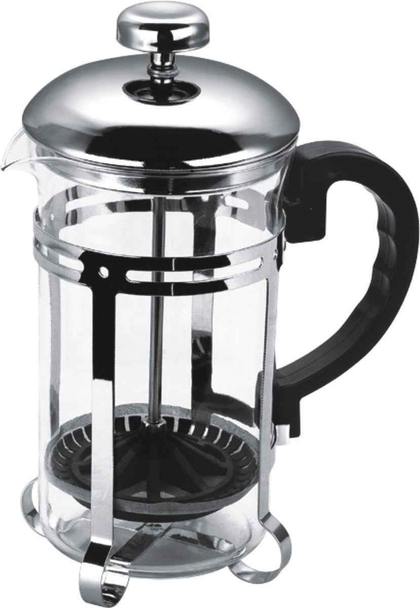 Чайник заварочный Bekker, 350 мл. BK-317VT-1520(SR)Кофейник/чайник заварочфренч-пресс350ml, разборный металл. корп.для заваривания кофе, чая и трав. Жаропрочность стекла до 100 гр.