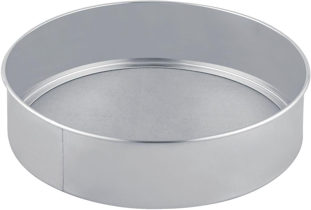Сито для муки Bekker, диаметр 24,5 см. BK-9208115510Сито для муки Bekker, выполненное из высококачественной нержавеющей стали, станет незаменимым аксессуаром на вашей кухне. Сито оснащено удобными бортиками. Прочная стальная сетка и корпус обеспечивают изделию износостойкость и долговечность. Такое сито станет достойным дополнением к кухонному инвентарю.Диаметр: 27,5 см.Высота: 6,5 см.