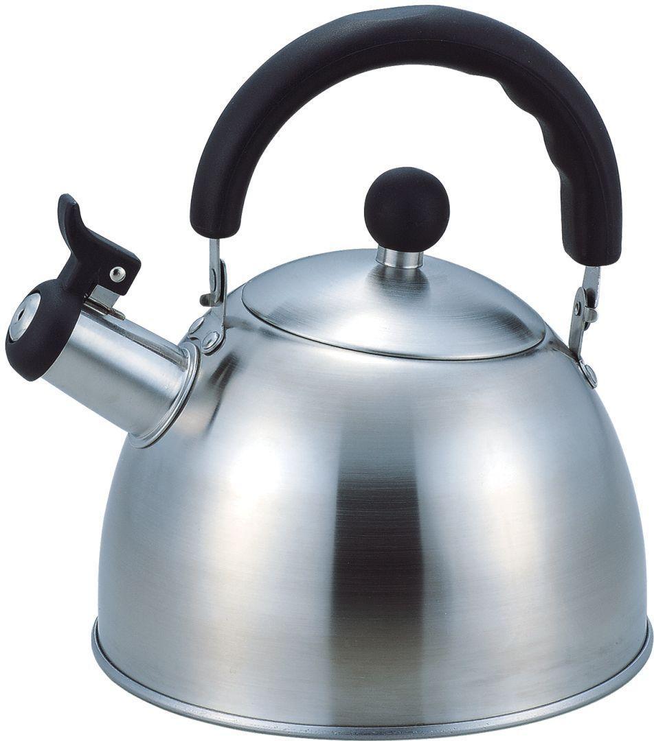 Чайник Bekker, 3 л. BK-S311M54 0093032.8L , со свистком, ручка подвижная черного цвета, крышка мет. Подходит для всех типов плит.