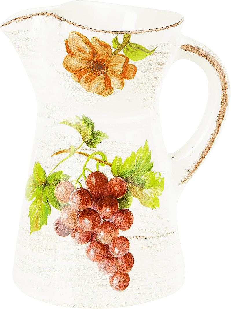 Кувшин Sestesi, 1 лVT-1520(SR)Создание компании, претендующей на мировую популярность, требует наличия определенной изюминки. Фирма Lavorazione Ceramiche Sestesi (LCS) – популярный производитель, известный своими первоклассными изделиями из керамики. Дизайнеры компании разрабатывают разнообразные декоры в современном и классическом стилях, ориентируясь на новомодные тенденции.Изделия снабжены подарочными упаковками, поэтому могут быть преподнесены в качестве подарка к любому торжеству. Собрав набор из различных предметов, вы сможете организовать прекрасный и, что особенно важно, функциональный презент молодоженам, новоселам или просто сделать приятный сюрприз для близкого человека.Прекрасные декоры, ручная роспись, превосходное качество и регулярное обновление коллекций позволило итальянской компании Lavorazione Ceramiche Sestesi достаточно быстро выйти на мировой уровень. Сегодня ее изделия известны далеко за рубежом. Роскошная керамика LCS по вкусу ценителям изысканной посуды, выполненной в флорентийском стиле.