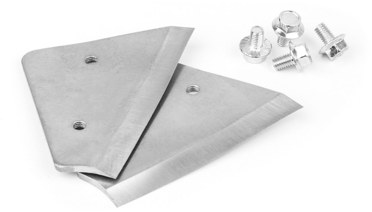 Ножи для ледобура Asseri, диаметр бурения 13 см909-02213Ножи Asseri предназначены для использования с ледобуром Ice Auger. Сферические ножи выполнены из высококачественной шведской стали. Очень удобно крепятся к ледобуру. Имеют небольшой вес.В комплект входит 2 ножа и крепления к ним.Диаметр бурения: 13 см.