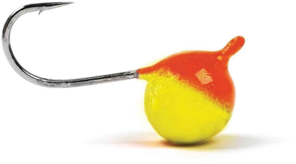 Мормышка вольфрамовая Asseri Шар, с ушком, цвет: красный, желтый, диаметр 5,2 мм, вес 1,35 г, 5 шт46116Мормышка Asseri Шар изготовлена из вольфрама и оснащена крючком. Она небольшого размера и окрашена так, чтобы издалека привлечь рыбу. Главное достоинство вольфрамовой мормышки - большой вес при малом объеме. Эта особенность дает большие преимущества при ловле, так как позволяет быстро погрузить приманку на требуемую глубину и лучше чувствовать игру мормышки.